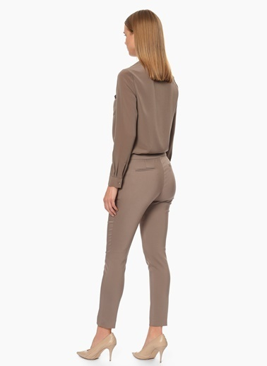 NetWork Slim Fit Pantolon Vizon